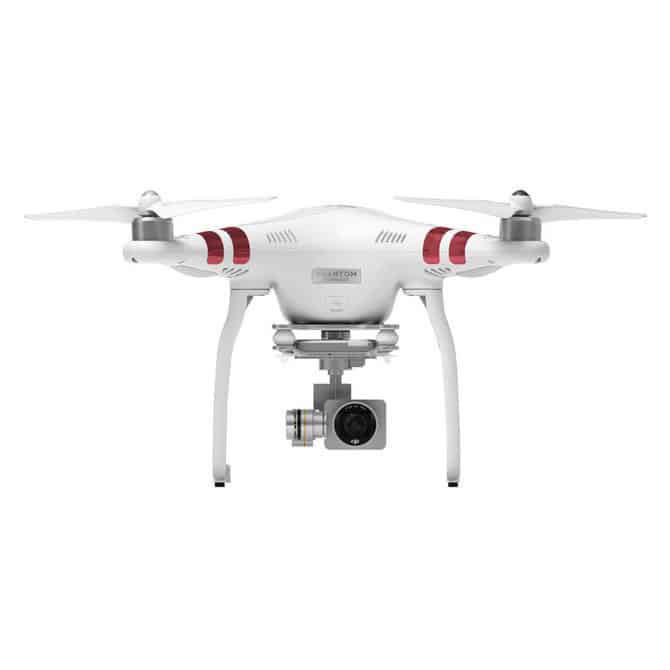 DJI Phantom P3 Drone - 2K Camera, 12MP Pictures, Stable Footage, 720P Real-Time View, 25 Min Flight Time, GPS
