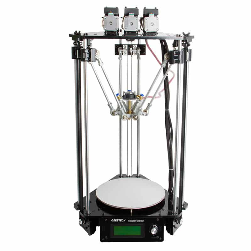 Geeetech Rostock 301 Mix Color 3D Printer