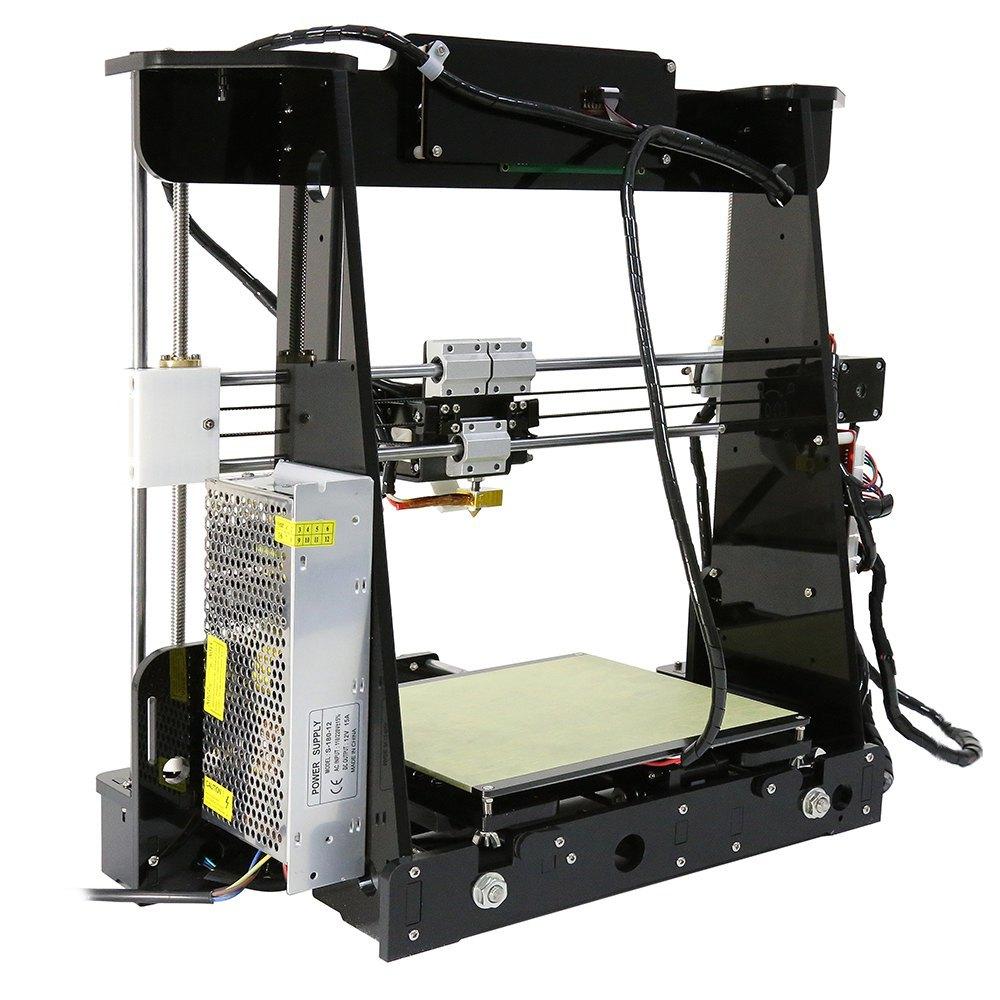 Anet A8 High Accuracy 3d Printer Prusa i3 DIY Kit LCD Screen Printer For  Desktop 3d printer Support SD Card Offline Print