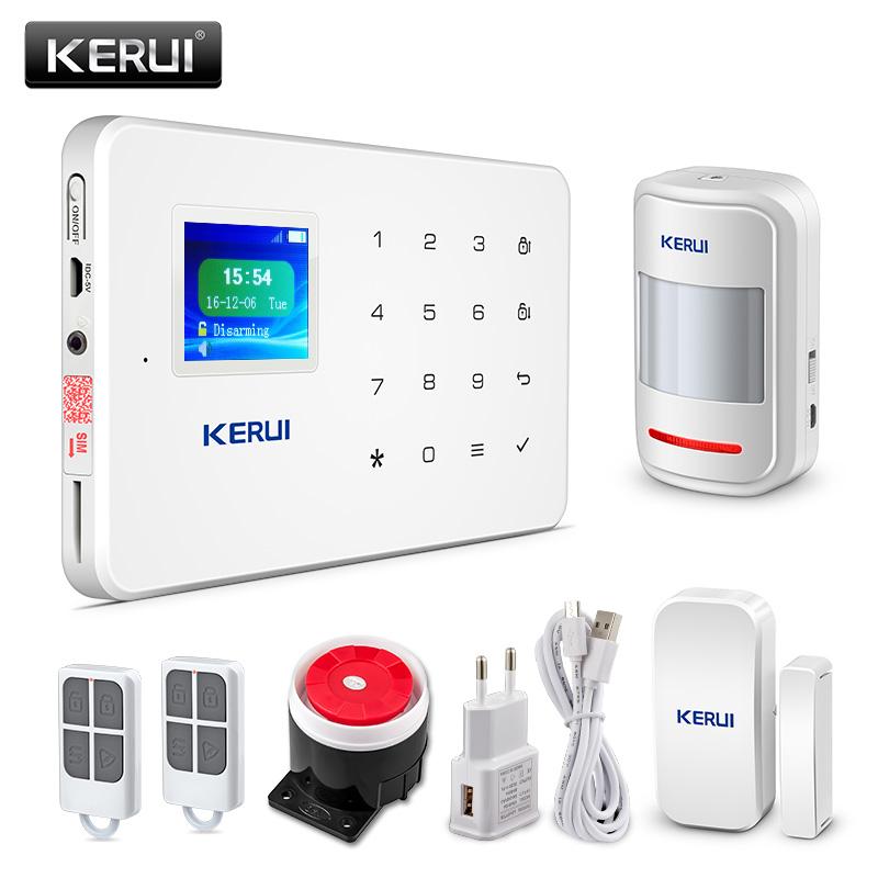 KERUI G18 Wireless Home GSM Security Alarm System DIY Kit ...